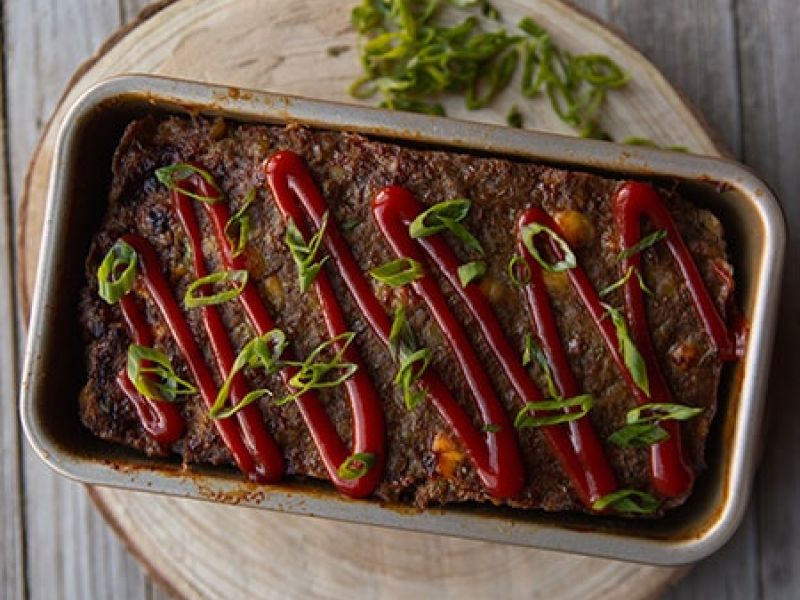 Beef and Lentil Meatloaf