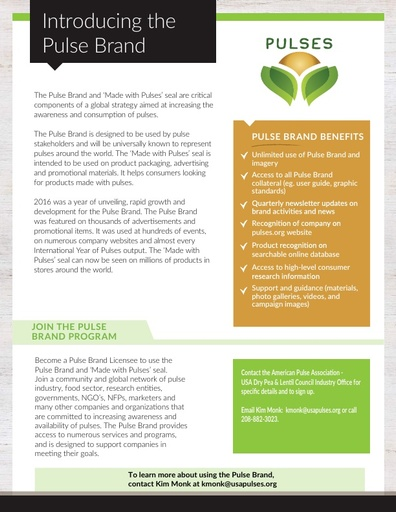 Pulse Brand Fact Sheet