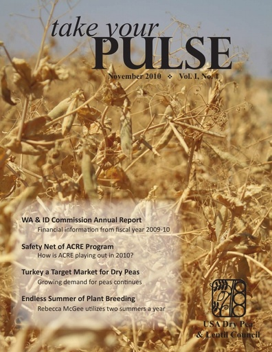 Take Your Pulse - Vol 1 No 1 - November 2010