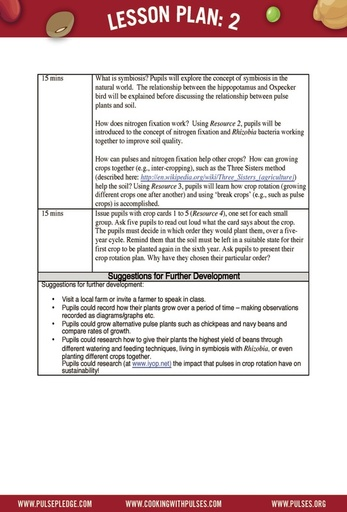 Pulse Curriculum Lesson 2 - Grade 3 page 3