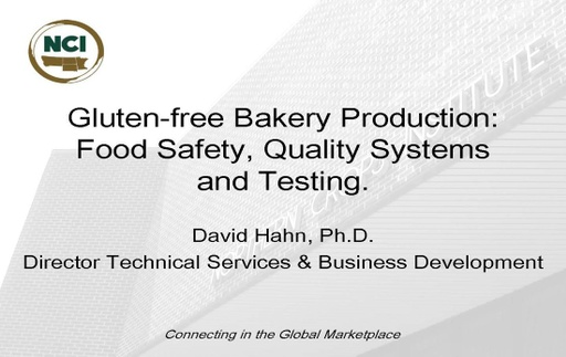 Gluten Free Bakery Production - Page 01