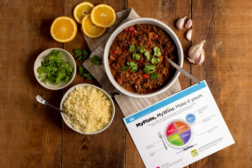 MyPlate, MyWins - Chili
