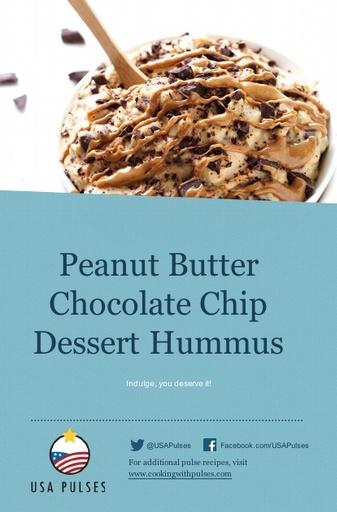 Peanut Butter Chocolate Dessert Hummus