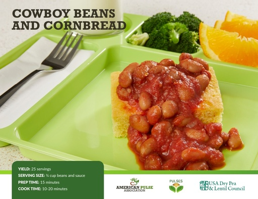 Cowboy Beans and Cornbread