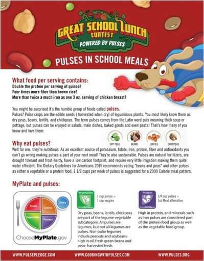 Pulses in School Meals 1