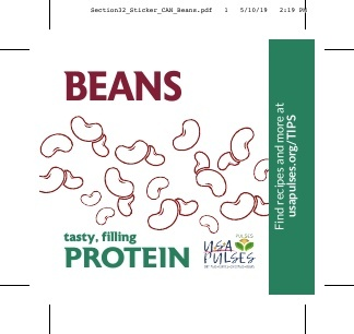 Beans Sticker (Can)