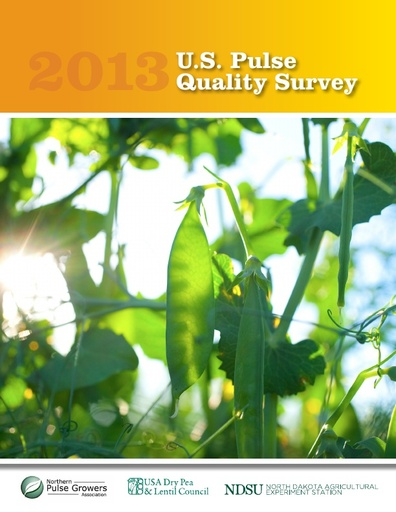 2013 US Pulse Quality Survey