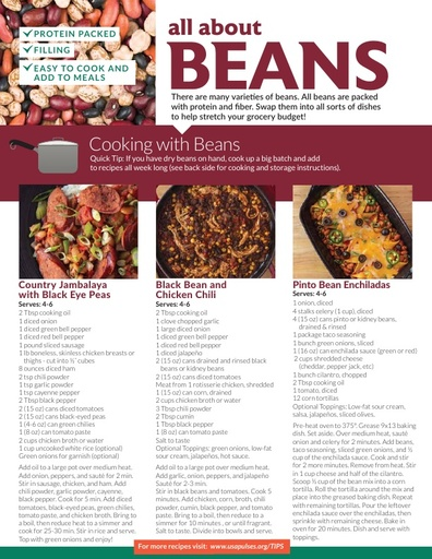 Bean Recipe Tips