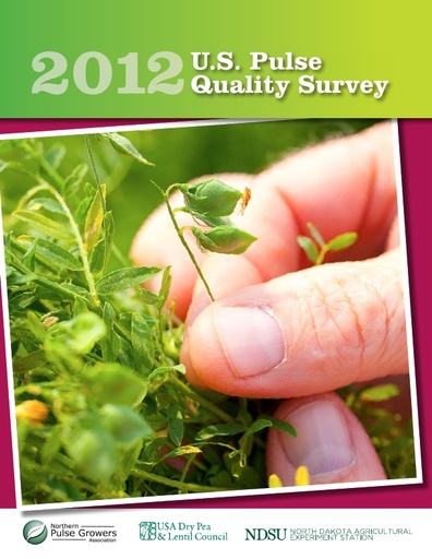 2012 US Pulse Quality Survey