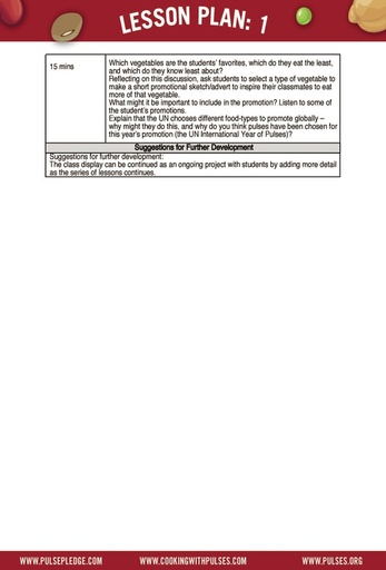 Pulse Curriculum Lesson 1 - Grade 3 page 3