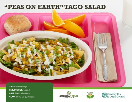 Peas on Earth Taco Salad