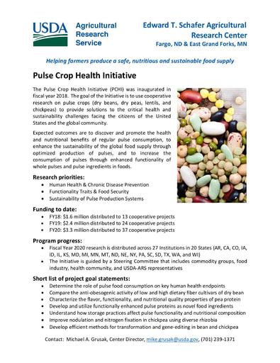 2021 Pulse Crop Health Initiative Primer