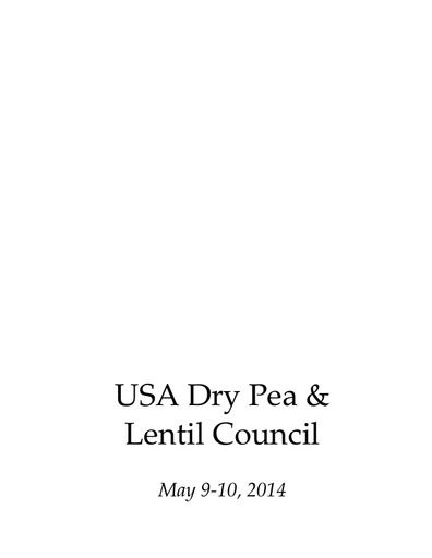 2014 usa dry peas lentils and chickpeas curriculum