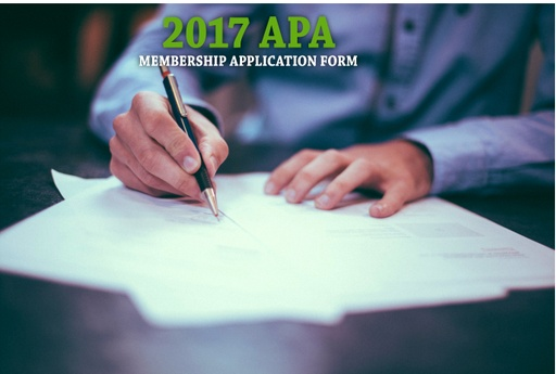 2017 APA Membership Button