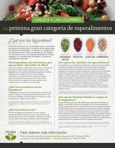 Conozca a las legumbres: Próxima gran categoría de superalimentos (Español)