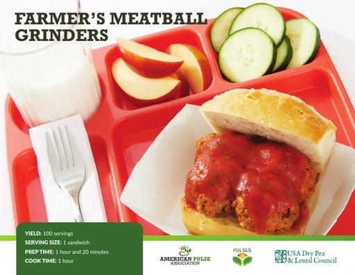 Farmer's Meatball Grinder