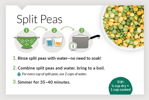How To Cook Split Peas